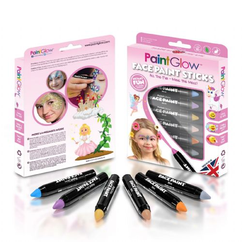 Fantasy Princess Face Paint Sticks